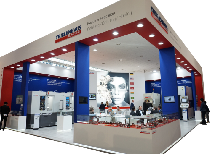 Thielenhaus Stand at EMO 2017