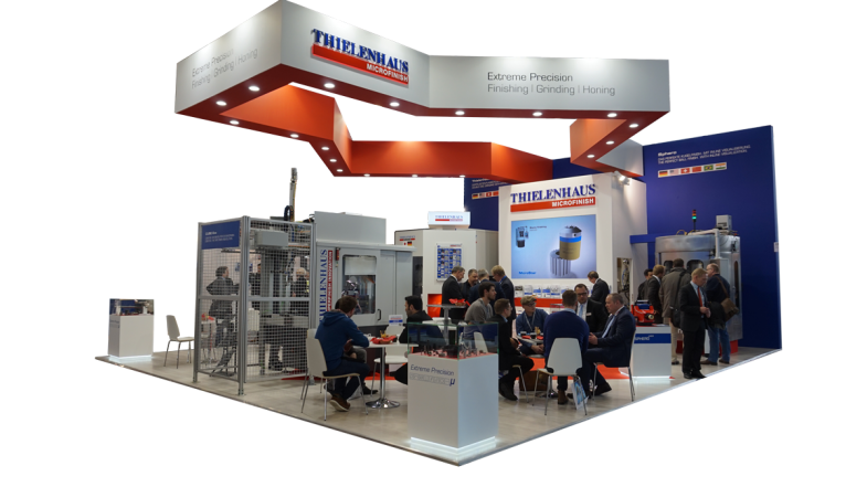 Thielenhaus Stand at GrindTec 2018
