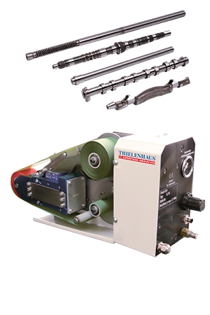 Microfinish on an existing carrier machine i.e. a turning or grinding machine
