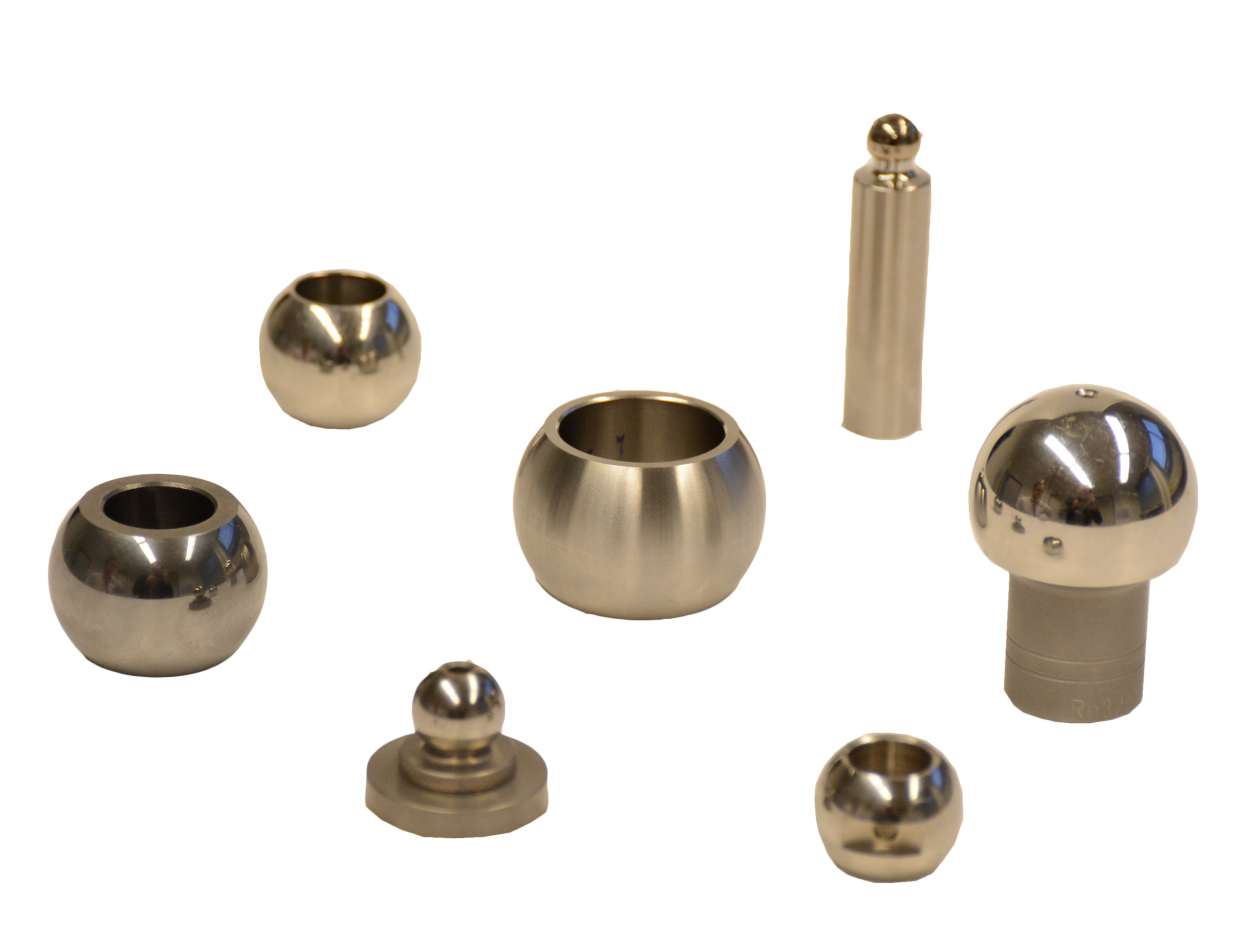 Spherical Parts after Microfinish Superfinish